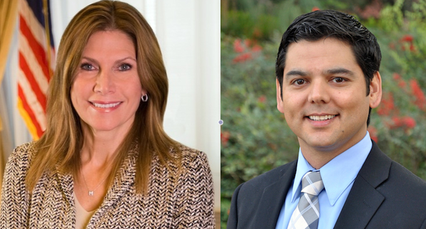 Mary Bono-Mack and Raul Ruiz | photos courtesy the Bono-Mack and Ruiz campaigns
