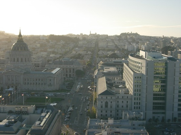 The California State Courts in San Francisco