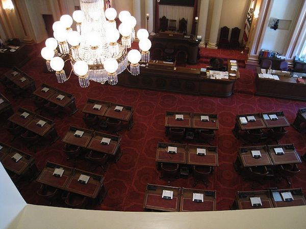 California Senate Chambers