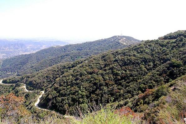 The Verdugo Mountains