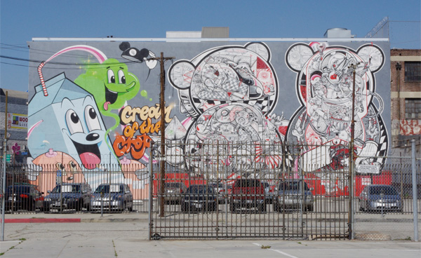 Murals are popping up in the Arts District I Photo: Ed Fuentes