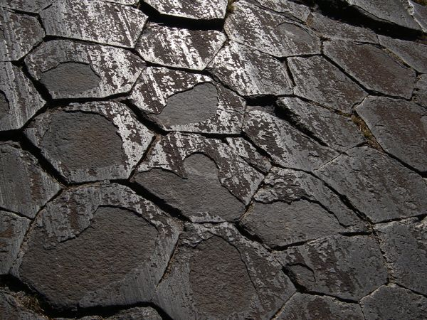 Detail of Devil's Postpile | Photo Courtesy of National Park Service
