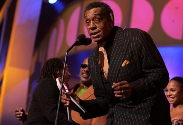 Producer Don Cornelius accepts the 'Discretionary Award - Pop Culture' on stage the 2005 TV Land Awards at Barker Hangar on March 13, 2005 in Santa Monica, California. | Photo by Kevin Winter/Getty Images