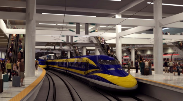 Photo Courtesy of California High-Speed Rail Authority