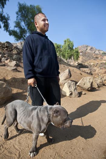 Juan Ortega and Rhino. | Photo: Douglas McCulloh