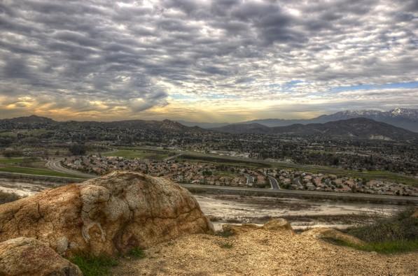 A view of Rubidoux from Mount Rubidoux Park