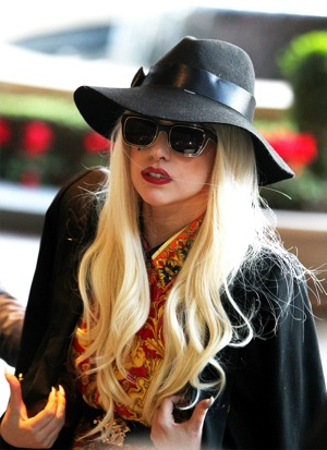 Lady Gaga arrives at the Park Hyatt Melbourne in June 2012 in Melbourne, Australia. | Photo by Graham Denholm/Getty Images