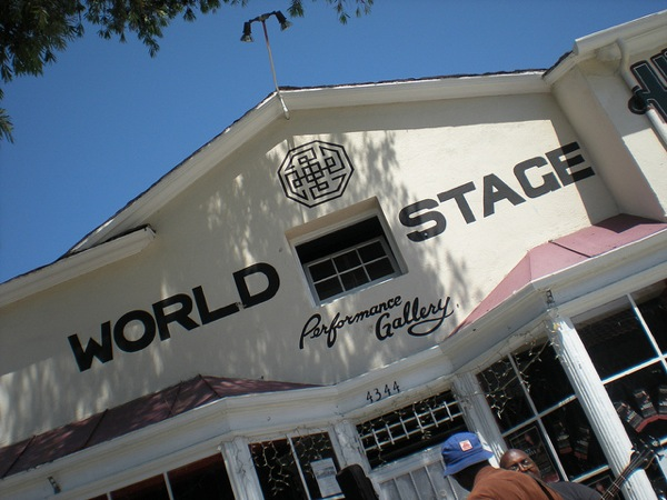 The World Stage in Leimert Park is slated for closure.
