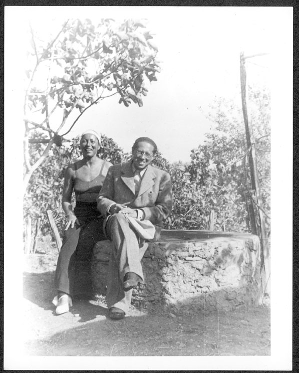 Lion and Marta Feuchtwanger. Courtesy of the Feuchtwanger Memorial Library, USC Libraries.