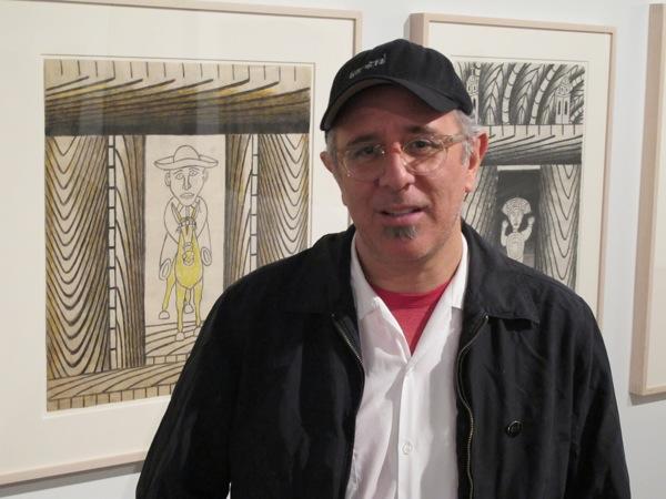 Exhibit curator Ruben Ortiz Torres