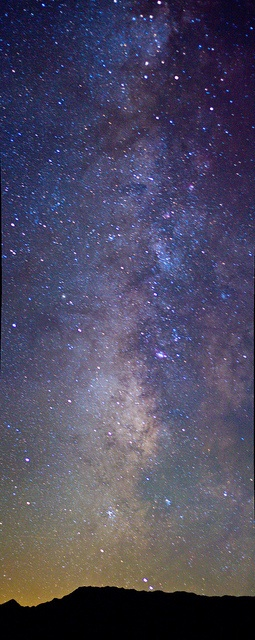 The milky way seen from Death Valley