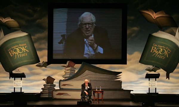 Ray Bradbury attends the 13th annual Los Angeles Times Festival of Books at UCLA in April 2008.| Photo by David Livingston/Getty Images