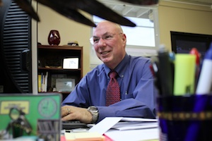 Superintendent Dick Bray enjoys the increased local control | Photo by Madeleine Scinto