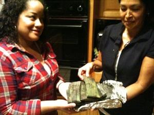 Rosa Alvarez and Nicole Maiden Alvarez in Rosa's San Pedro Kitchen