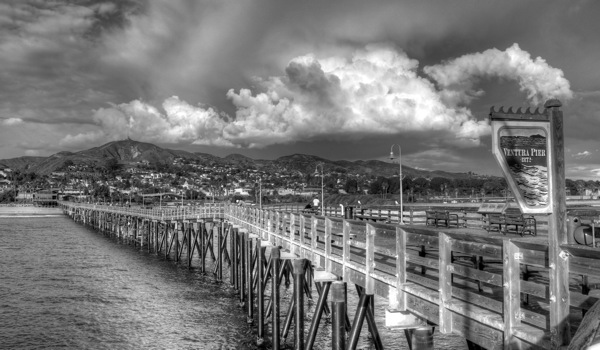 The Ventura Pier. | Photo: Courtesy Hank Tovar