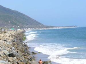Rincon Beach in Ventura County | Photo via State of CA