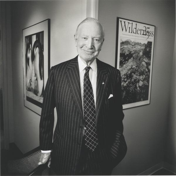 Russell E. Train. | Photo: Courtesy The Heinz Awards