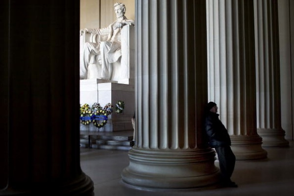 The Lincoln Memorial on the National Mall | Photo by Brendan Smialowski/Getty Images