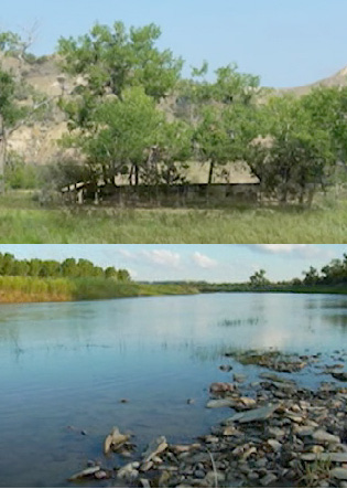 Images from the Elkhorn Ranch area in Theodore Roosevelt National Park. | Photo: Courtesy National Park Service