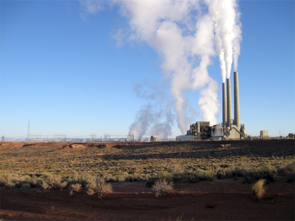 The Navajo Generating Station sends power to Los Angeles
