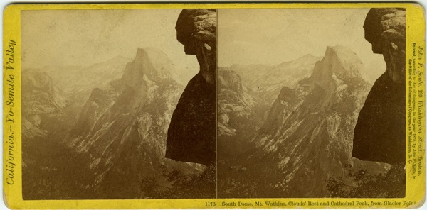 An example of a stereoview image. | Photo: Courtesy special collections at Honnold Library Claremont Colleges