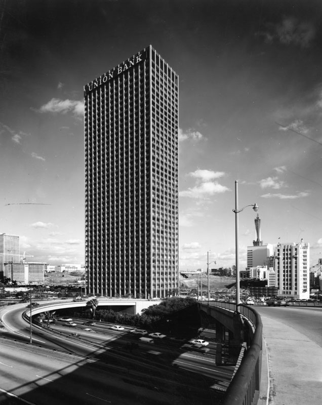 Union Bank Square building, circa 1968