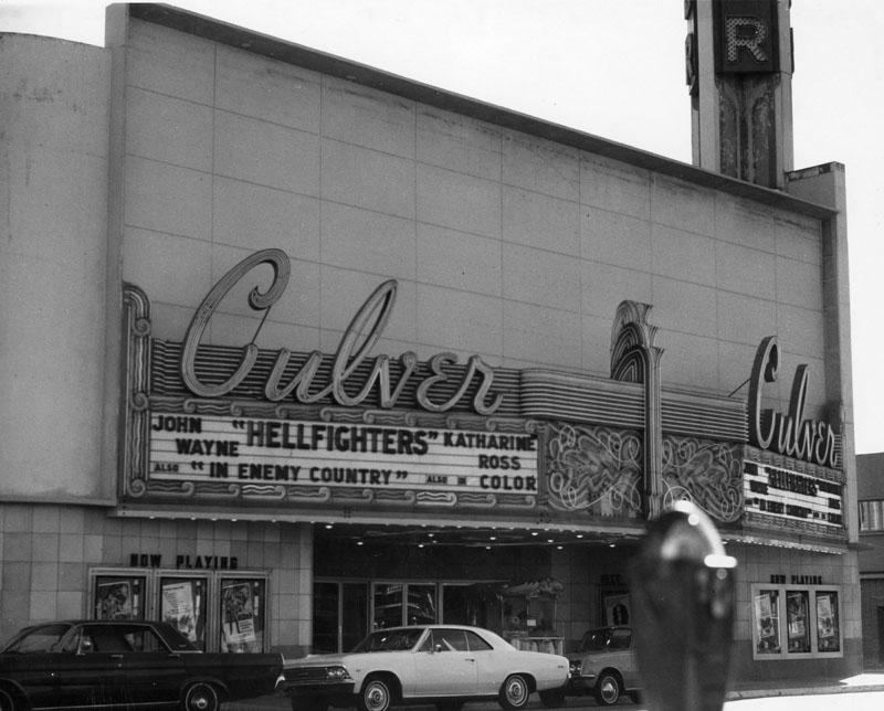 Culver Theatre, exterior | Los Angeles Public Library