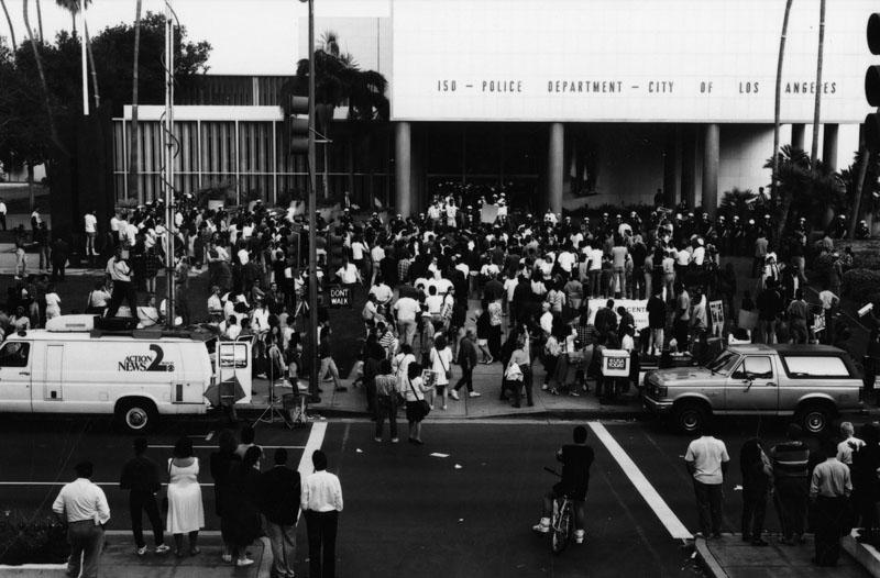 1992 Parker Center protest