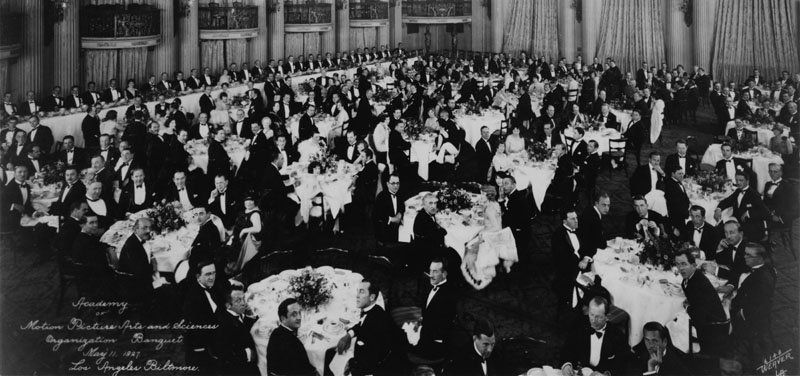 The Biltmore Hotel hosted the first organizational meeting of the Academy of Motion Picture Arts and Sciences on May 11, 1927.