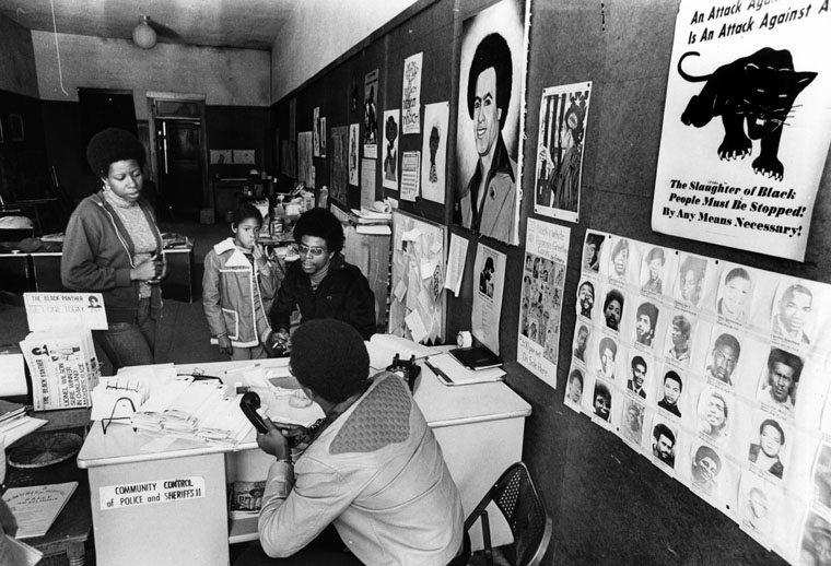 Black Panther Headquarters in LA 1977