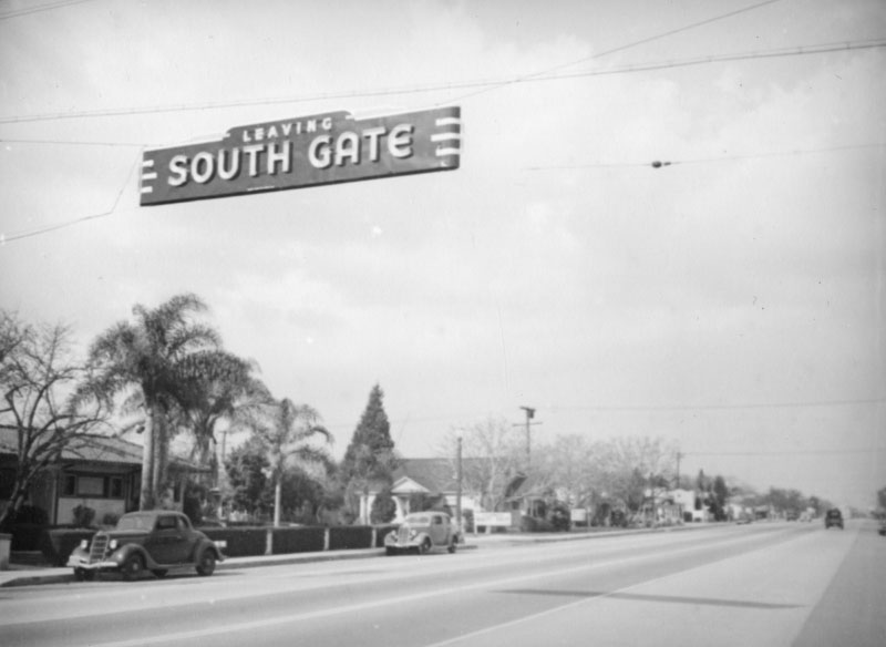 Leaving South Gate