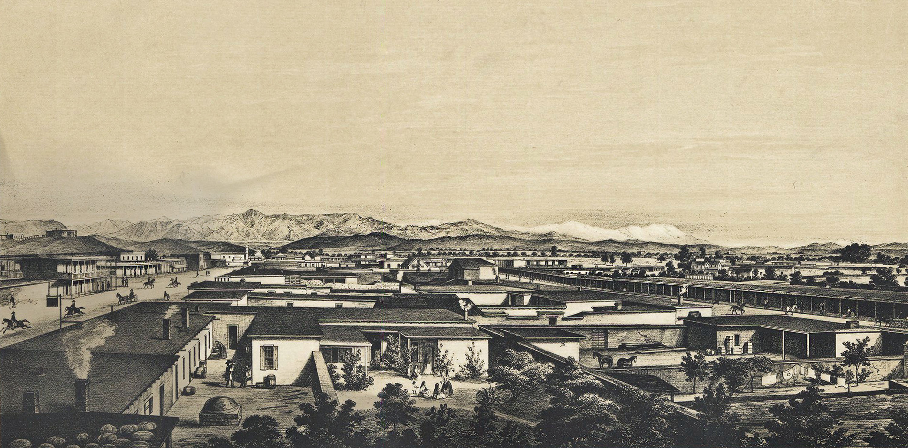 Los Angeles in 1857