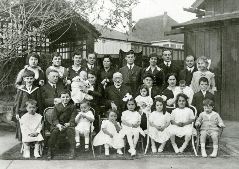 Newmark Family, ca. 1908