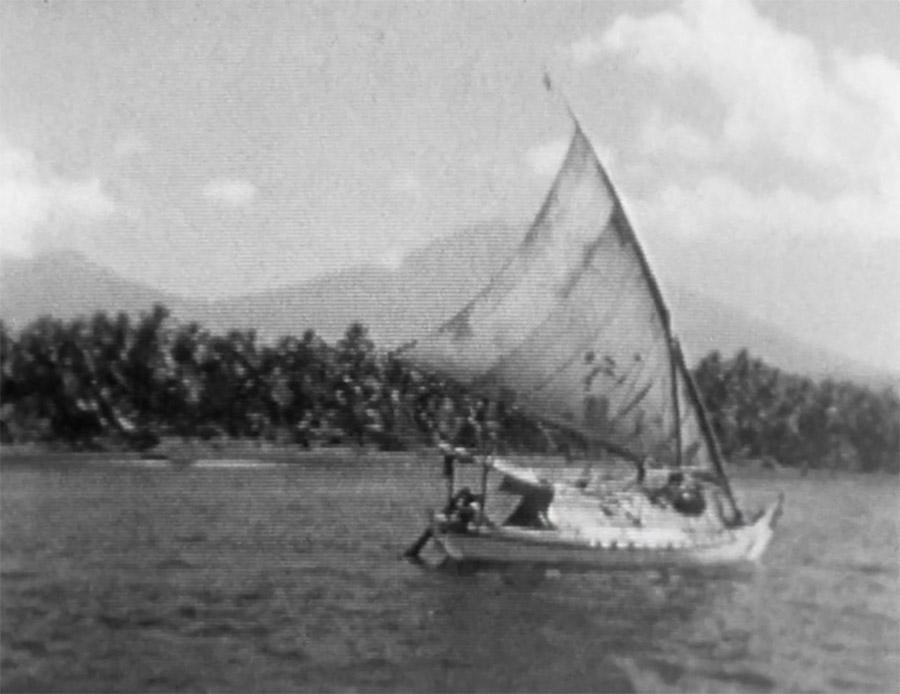 Boat - Grayscale