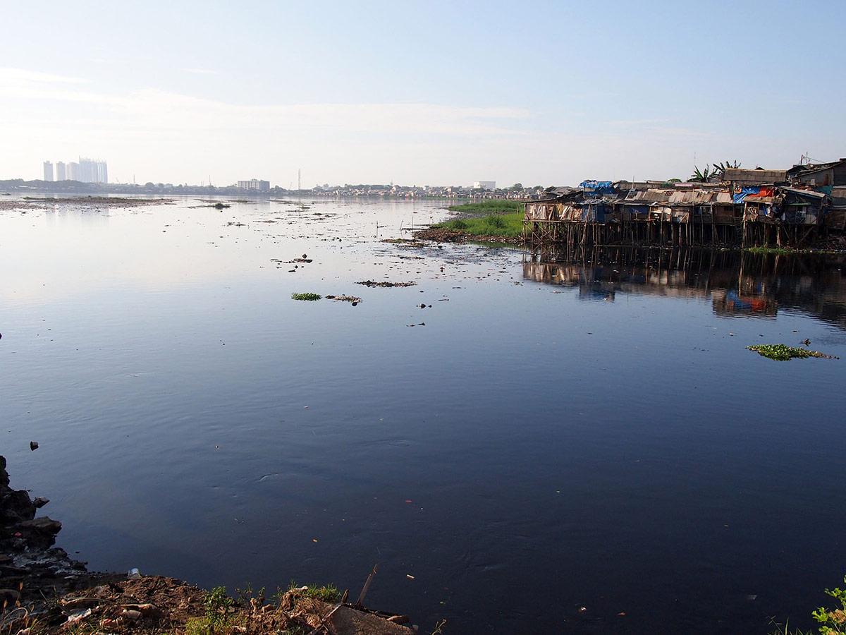 Pluit Reservoir in North Jakarta, July 2013.   Kian Goh