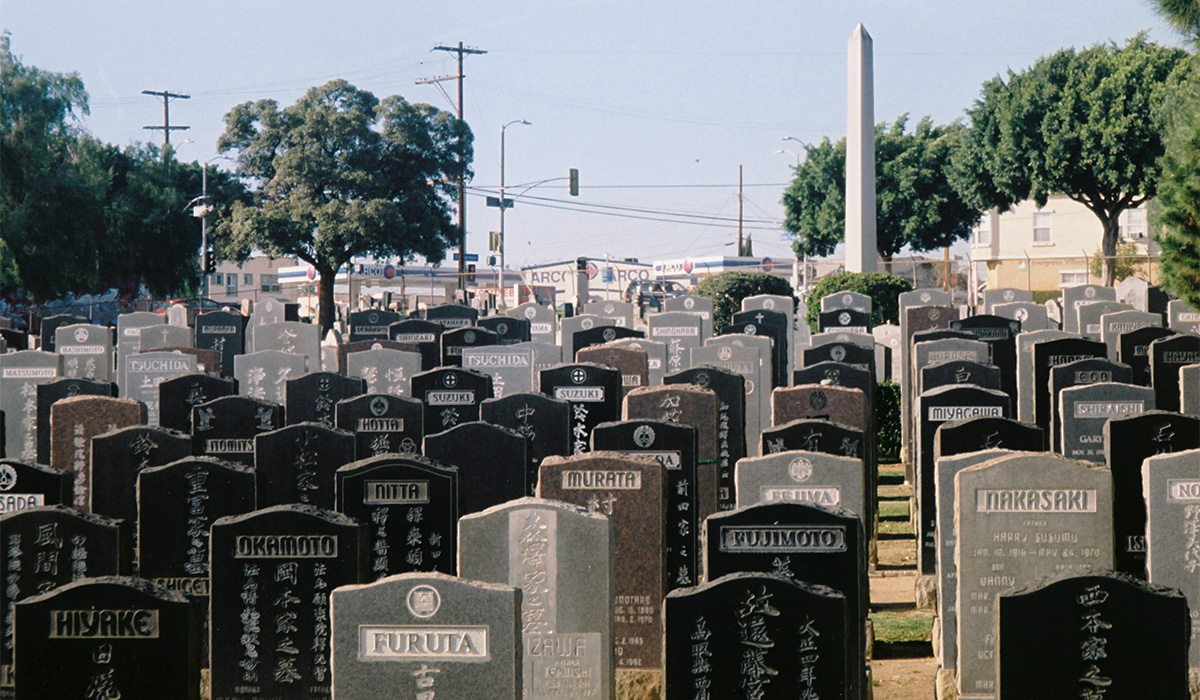 Japanese graves | Chase Alexander