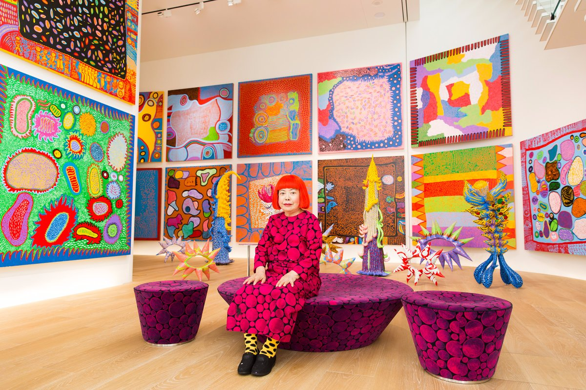 of polka dots and pumpkins yayoi kusama s infinite imagination