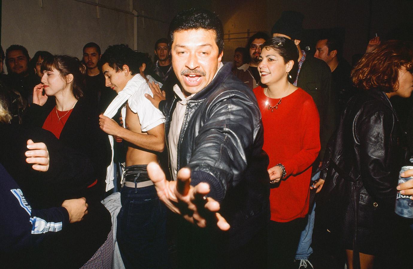 Dancing at Pico Rivera-Deland Street