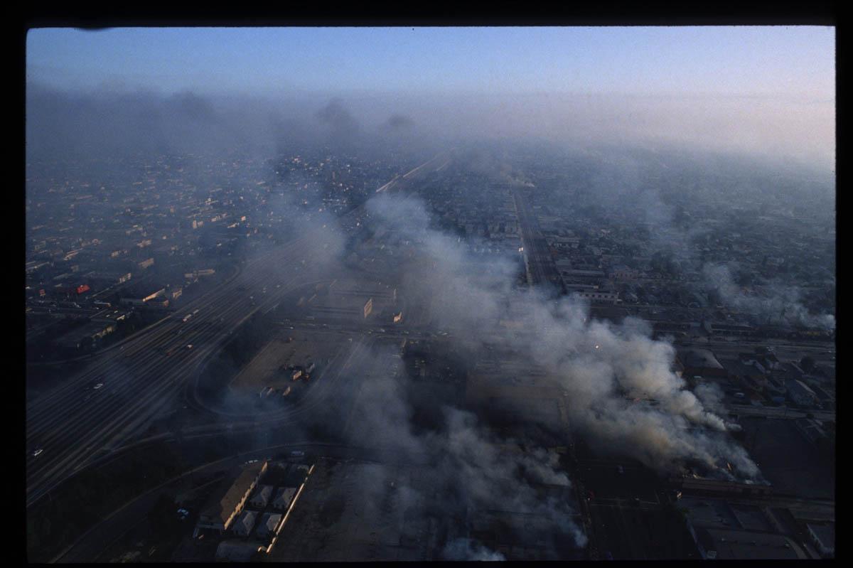 L.A. Riots - Aerial