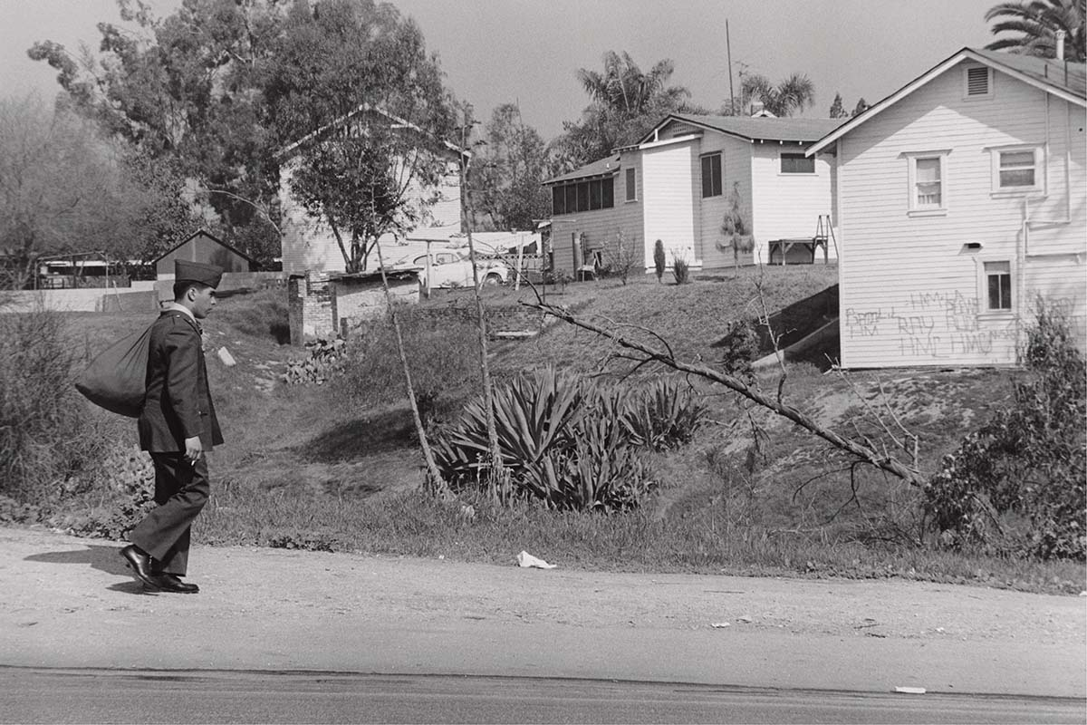 George Rodriguez, Home from Vietnam, East L.A. , 1970. | Courtesy of the artist.