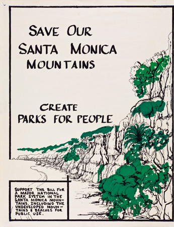 Santa Monica Mountains Poster