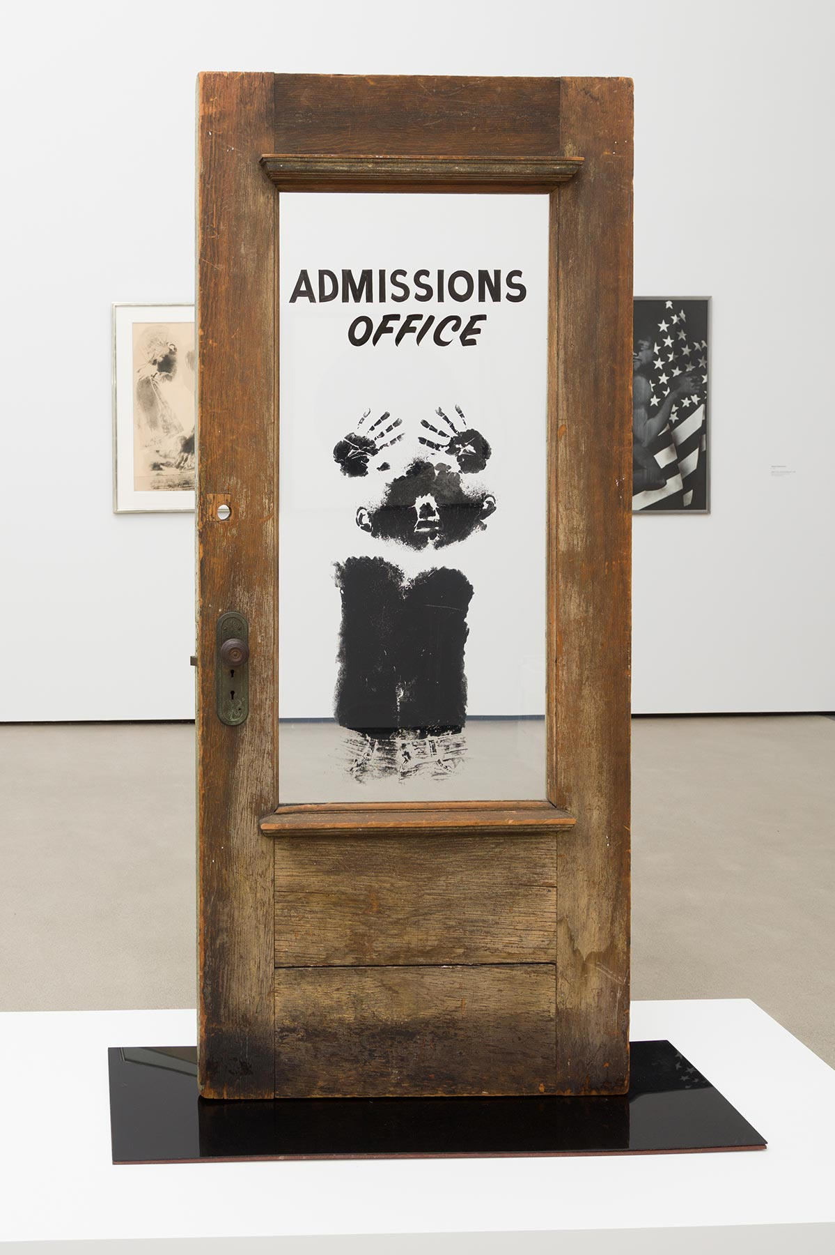 David Hammons, The Door (Admissions Office), 1969 | Pablo Enriquez, Courtesy of the Broad