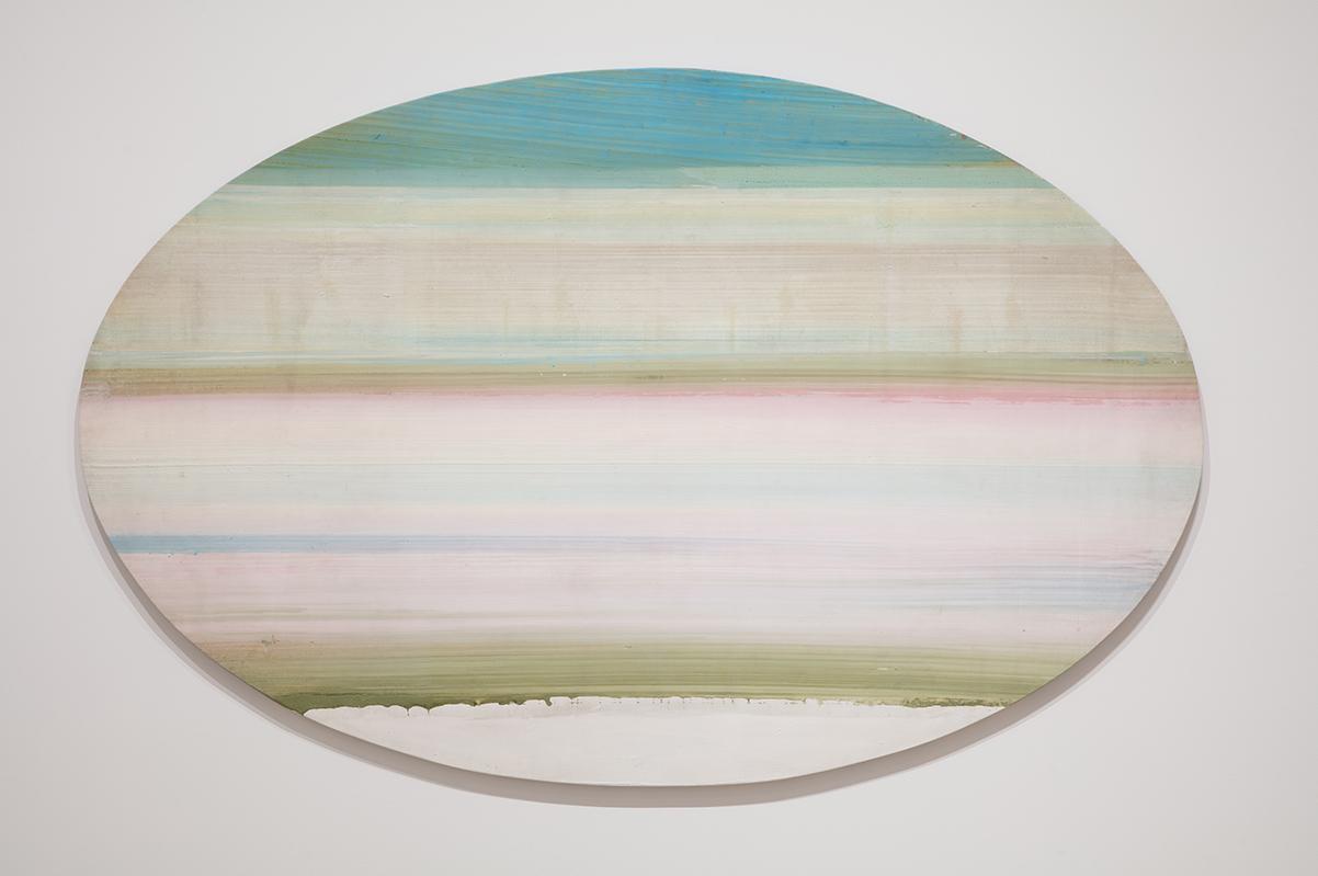 Ed Clark. Yenom (#9), Acrylic paint on canvas | Pablo Enriquez, Courtesy of the Broad