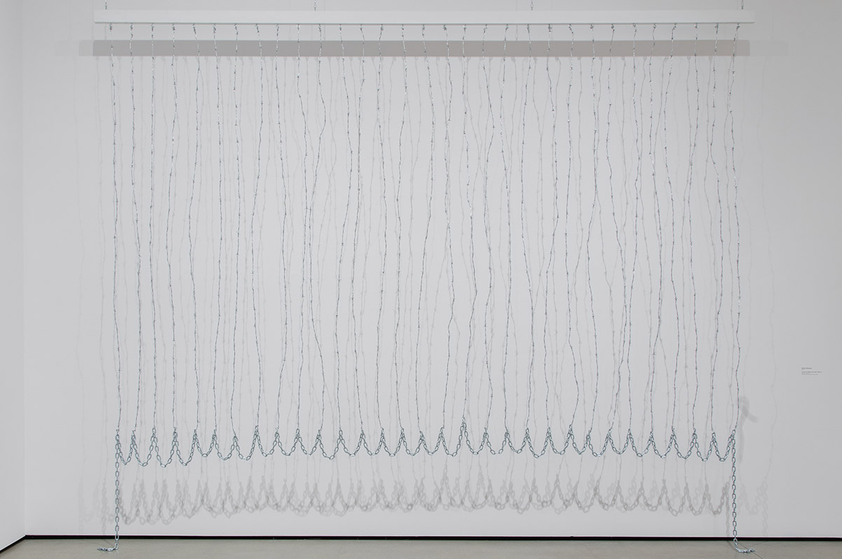 Mel Edwards, Curtain (for William and Peter), 1969 | Pablo Enriquez, Courtesy of the Broad