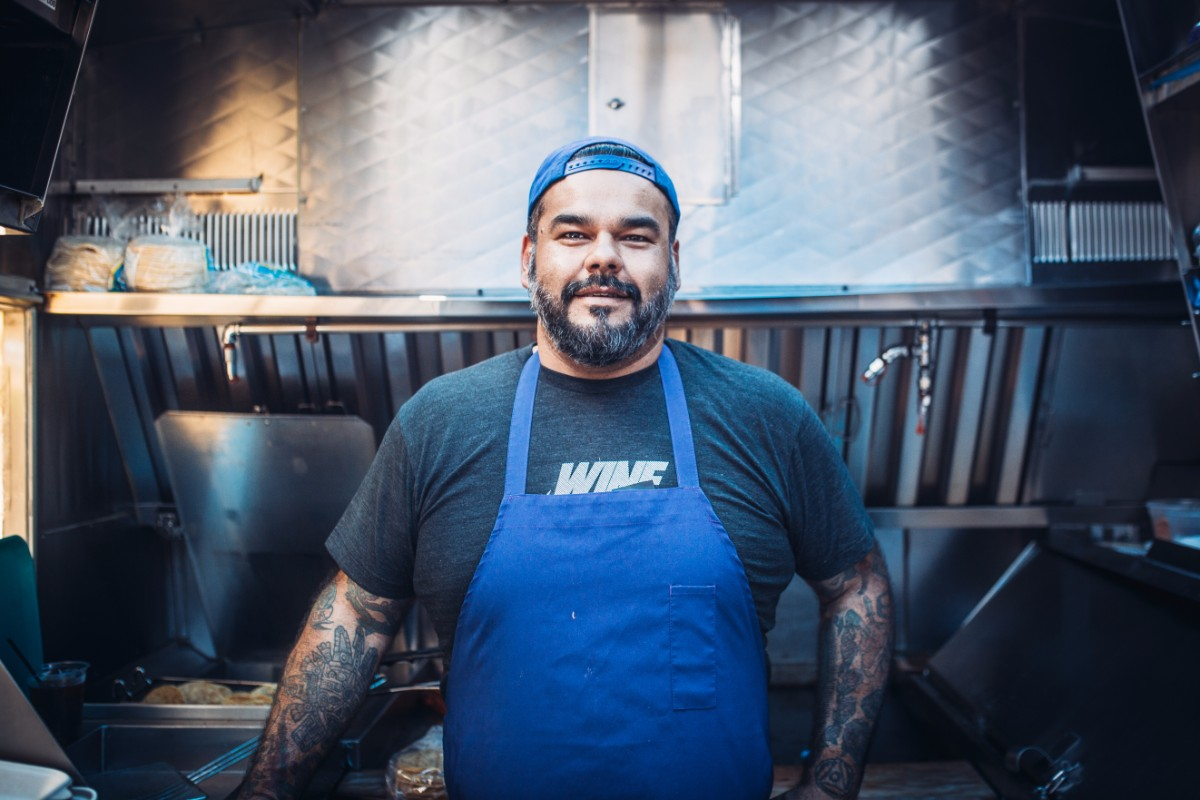 Chef Wes Avila of Guerilla Tacos | Courtesy of Life & Thyme