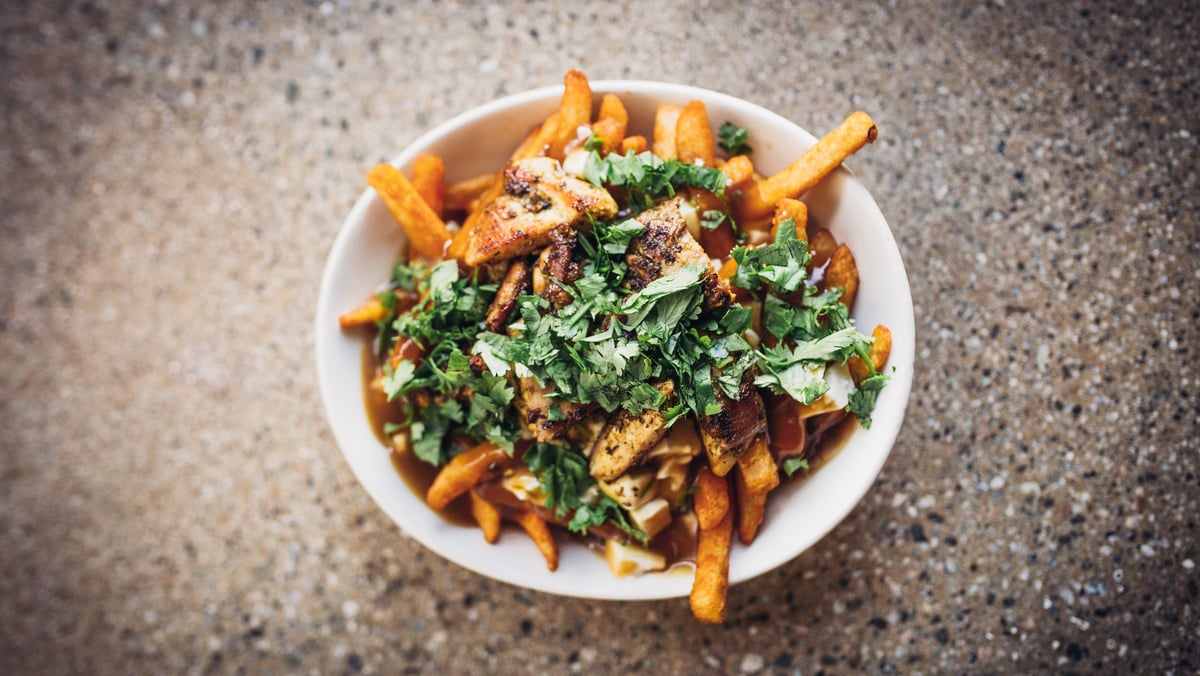 Badmaash's Chicken Tikka Poutine | Courtesy of Life & Thyme