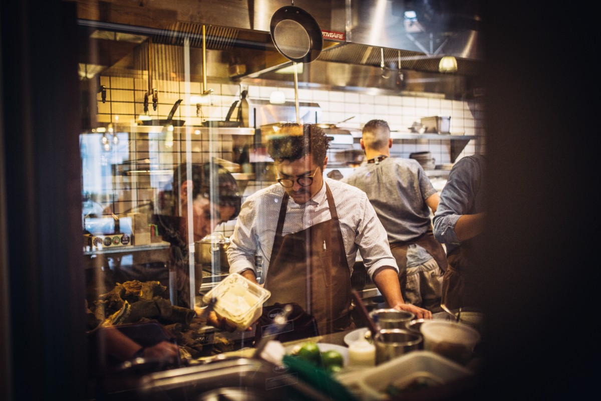 Chef Carlos Salgado of Taco Maria | Courtesy of Life &Thyme