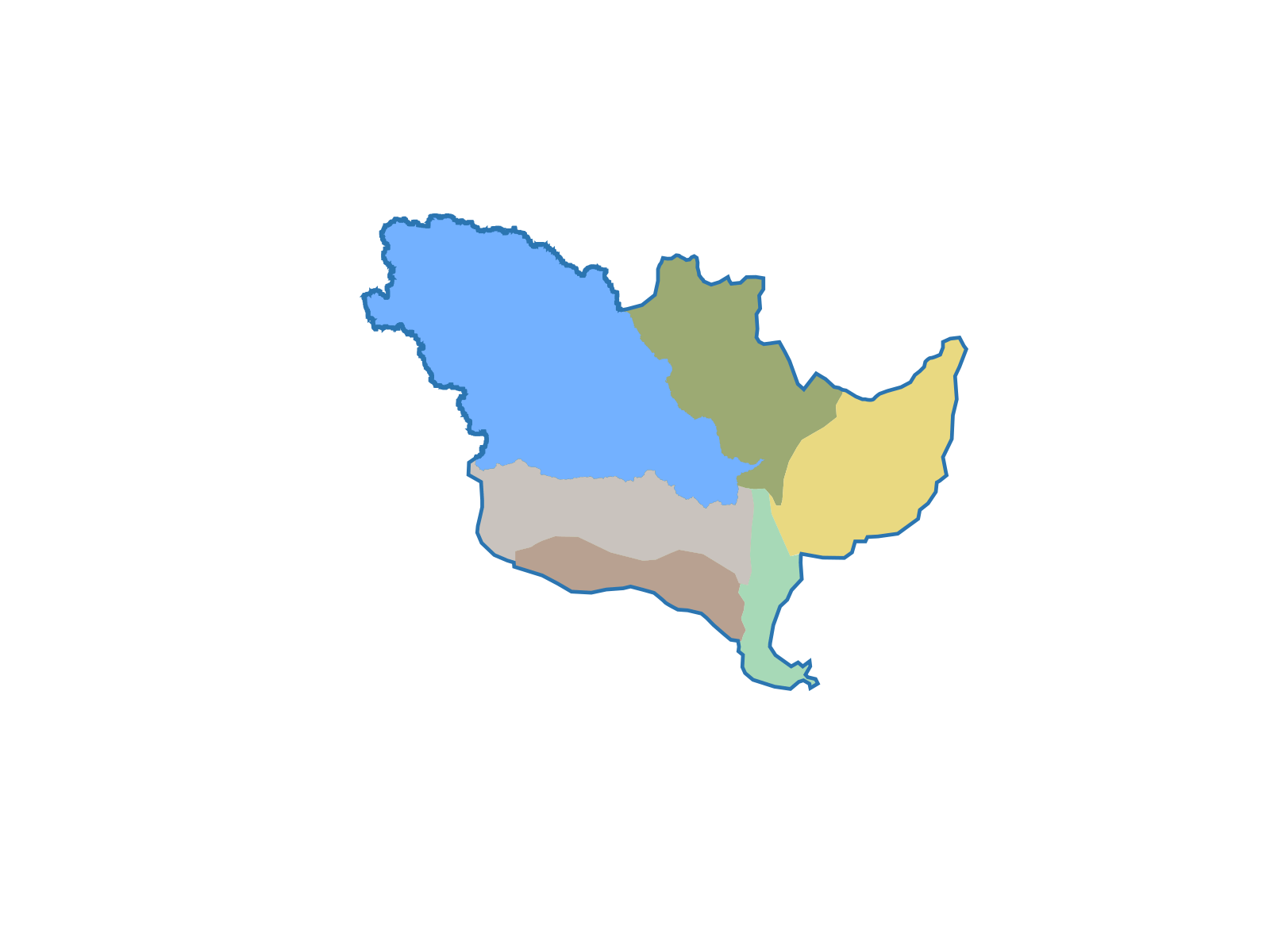 MS River Basin Sub Watersheds