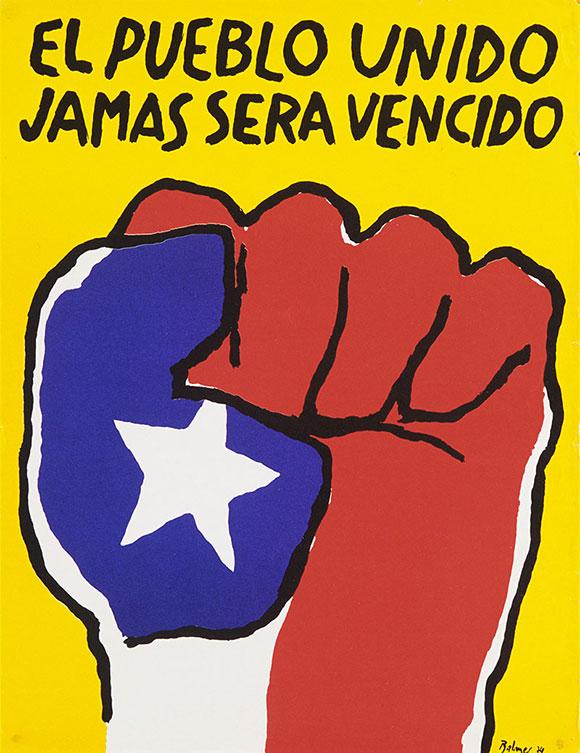 Pueblo Unido Poster