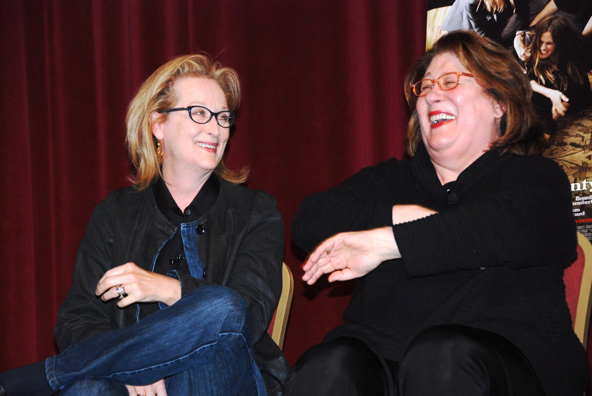 "Meryl Streep during the Cinema Series screening of ""August: Osage County"""